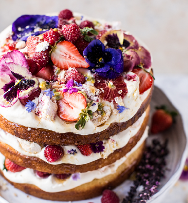 eton mess cake.half baked harvest