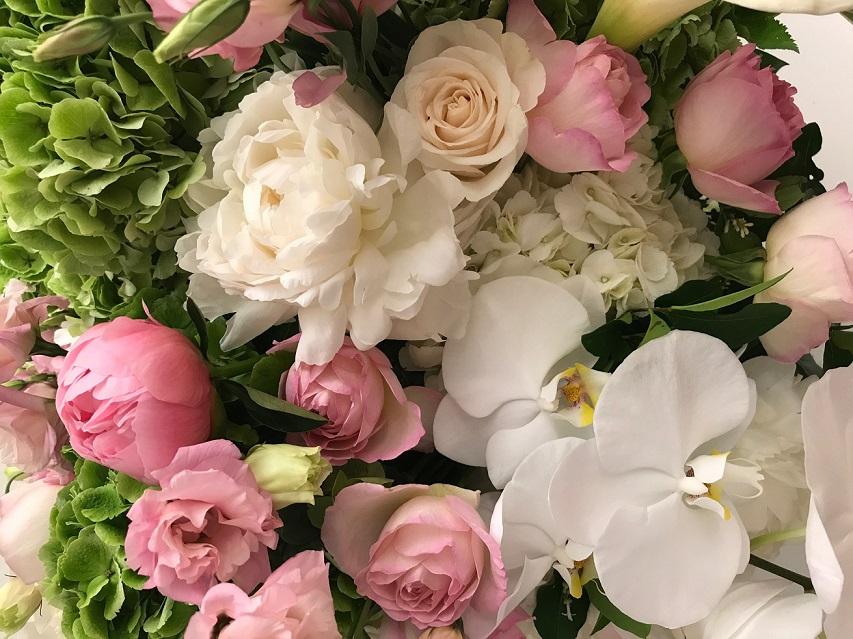 belle fleur. mac close-up