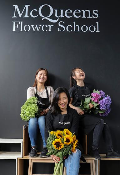 mcqueens flower school