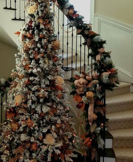 petalsandleavesflorist. holiday interiors