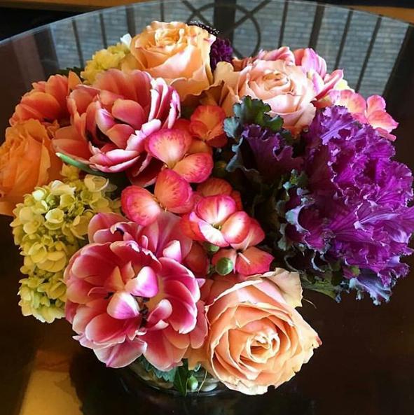 carpe diem roses. wisteria design