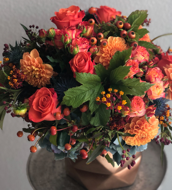 floral design studio. autumn