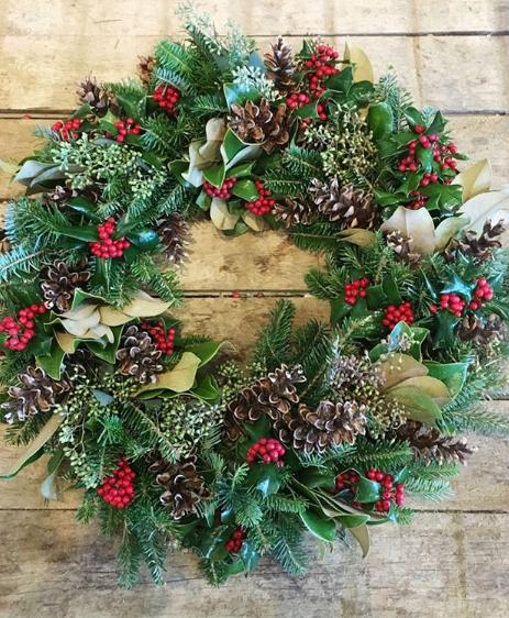 lejardinfrancais. wreath