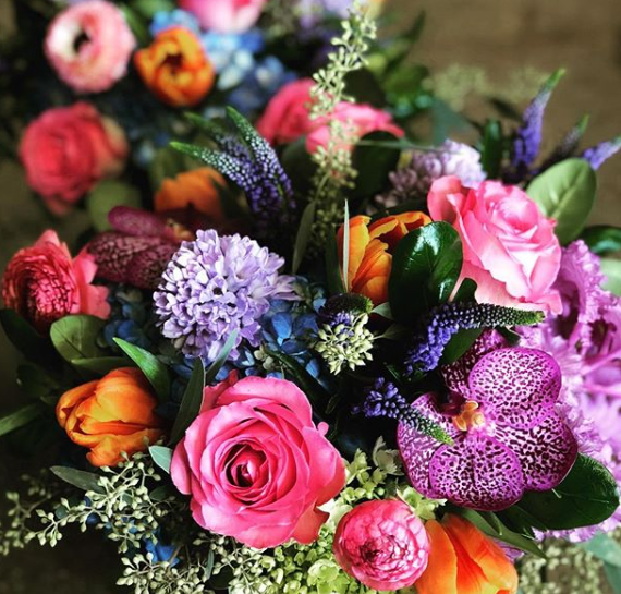enchanted florist dfw. mixed and vibrant